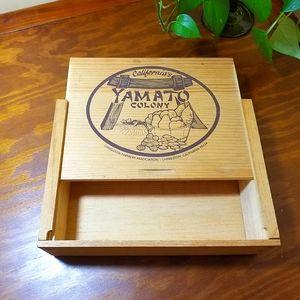 Wood Box/Crate, Yamato Colony